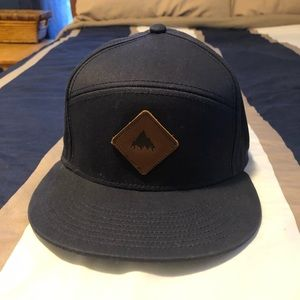 Burton flat bill hat